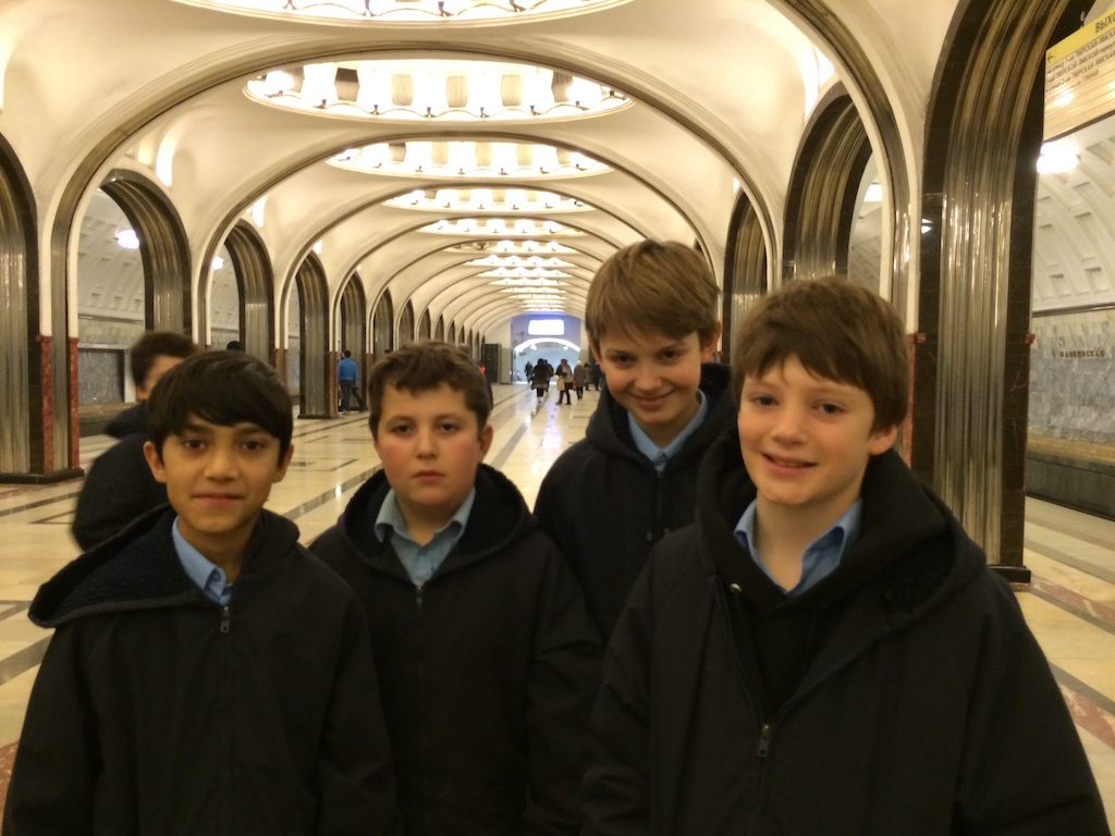 Our last day in Russia was Sunday, the Sabbath Day, a day of rest. However rest is not a word in the Libera dictionary. We were going to make the most of ...